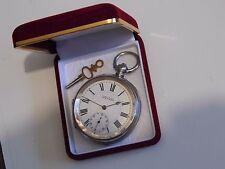 Beautiful Swiss Hallmarked Silver Kendal & Dent, Buren. Pocket Watch circa 1910