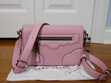 NEW Auth Marc Jacobs $395 Haze Small Leather Crossbody Shoulder Bag, Pink Fleur
