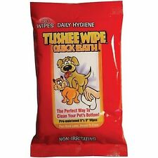 International Veterinary Sciences Quick Bath Tushee Wipe 30 Count for Dogs & Cat