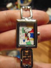 Snoopy Joe Cool Ladies Watch Needs Battery Officially licensed watch Multicolor