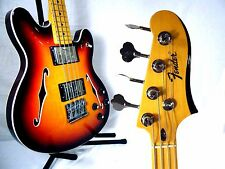 Fender Starcaster Short Scale Bass in Aged Cherry Burst FREE SHIPPING