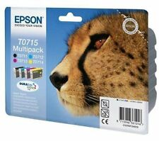 Genuine Epson Original T0715 Multipack Ink Cartridges T0711 T0712 T0713 T0714 BN