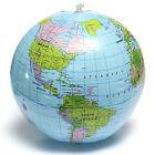 38CM Palla Pallone da Mare Gonfiabile Mappamondo Con Mondo Globo Geografico