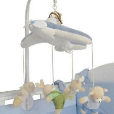 Baby Crib Bed Bell Toy Music Mobile Box Infant Newborn Holder Wind-Up Hanging