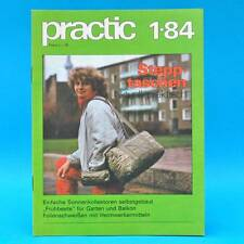 DDR practic 1/1984 Gewächshaus Sonnenkollektor Stepptasche Parkleuchte Q