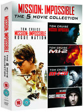 Mission Impossible 1-5 [DVD]