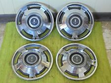 """1965 Chevrolet Hub Caps 13"""" Set of 4 Chevy Corvair MONZA Wheel Covers 65 Hubcaps"""