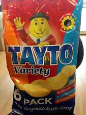 Tayto Crisps Variety 6 x 25g Pack Irish Crisps Irish Taste