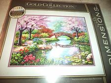 Dimensions The Gold Collection Japanese Garden Counted Cross Stitch Kit
