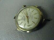 c 1960 Swiss Waltham Semag 17 jewel mens watch running well sweep second hand