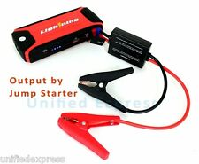 12V Portable Jump Starter~10000mAh Auto Car Charger Power Bank External Battery