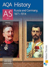 AQA History AS: Unit 1 - Russia and Germany, 1871-1914-ExLibrary