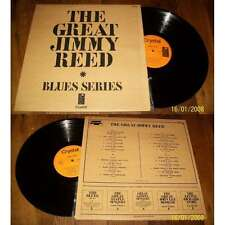 JIMMY REED - The Great Jimmy Reed Double LP French Press Crystal NM