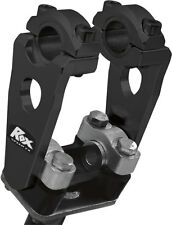 "Rox Speed FX - 3.5"" Pivoting Risers for 7/8 OR 1-1/8 Handlebar (Black) 1R-P3SEK"