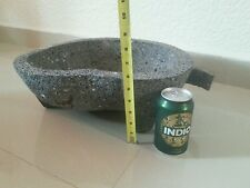 Royal Chef Molcajete Authentic Mexican Volcanic Rock Guacamole Salsa Queen King