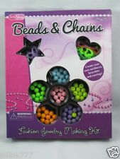 New KidShop Beads & Chains Fashion Jewelry Making Kit for ages5+:Lilac
