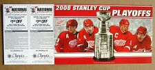 Red Wings Game ticket 2008 Stanley Cup Playoffs Ticket Stubs Round 2 Home Games