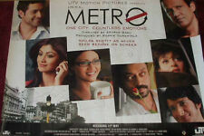Cinema Poster: LIFE IN A METRO 2007 (Quad) Shilpa Shetty