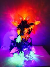 25000 Bulbs Life Phillips 25 Ct Pine Cones LED Christmas Multi Color C9 Lights #