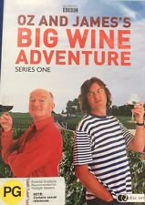 TV Oz And James's Big Wine Adventure Series 1 BBC 2-Disc Set All Region VGC