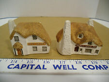 Philip Laureston Ceramic Miniature Village Post Office & Church House Inn