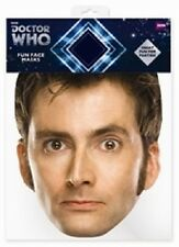 David Tennant  The Tenth (10th) Doctor Who Single Card Face Mask -  Party Fun!