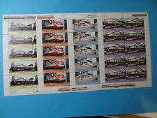 Stamps * GERMANY * B977-979 * Trains * Sheets of 10 * MNH * 2006 * Express