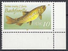 DDR 1987 Mi. Nr. 3096 Eckrand Postfrisch (24862)