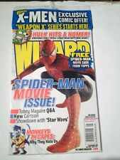 Wizard Magazine # 128 Spiderman