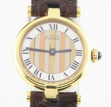 Must de Cartier Women's Vermeil Vendome Quartz Watch with Tri-Gold Dial G20M