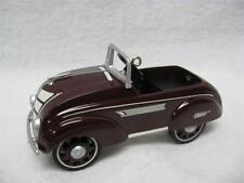 1937 STEELCRAFT AIRFLOW BY MURRAY KIDDIE CAR, 1997 HALLMARK CHRISTMAS ORNAMENT