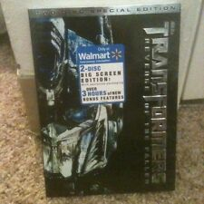 NEW TRANSFORMERS REVENGE OF THE FALLEN DVD BIG SCREEN EDITION EXCLUSIVE TWO DISC