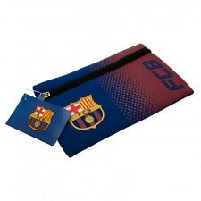 FC Barcelona Flat Pencil Case Official FCB Football Club Crest FC School New