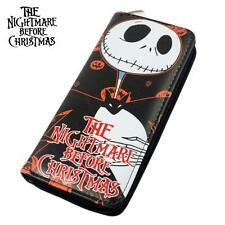 NEW PU Wallet Long Purse Gift For Nightmare Before Christmas Jack Skellington
