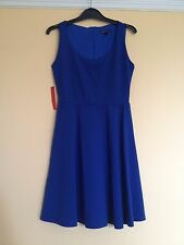 Electric Bright Blue Skater Party Prom Ball Swing Evening Dress- Size 12 NWT