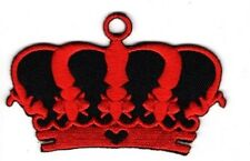 IMPERIAL RED CROWN Embroidered Patch Iron Sew Logo Hardcore Emblem Custom ROYAL