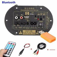 80W Bluetooth Subwoofer Hi-Fi Verstärker Amplifier Board TF USB 12V/24V/220V New