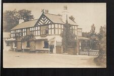 Gayton near Heswall - The Clegg Arms - real photographic postcard