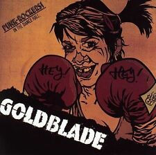 CD GOLDBLADE - PUNK ROCKERS IN THE DANCE HALL  / excellent état