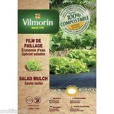 Film de paillage spécial salades - 1,50m x 4 m - 20 µm potager jardin eau