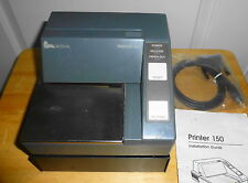 VERIFONE POS SLIP IMPACT PRINTER MODEL P-150  -  SERIAL PORT WITH AC ADAPTER