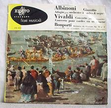33T 25cm ALBINONI VIVALDI BONPORTI Orch Chambre PAILLARD Trompette Maurice ANDRE