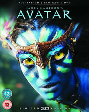 BLU-RAY 3D  AVATAR ( LENTICULAR ARTWORK )       BRAND NEW SEALED UK STOCK