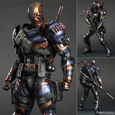 Play Arts Kai Deathstroke Arkham Origin DC Comics Action Figure Model Statue Toy