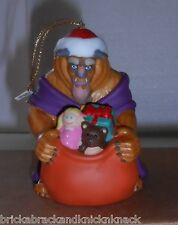 "DISNEY'S  ""BEAST"" PORCELAIN ORNAMENT ""GROLIER COLLECTABLES"" COLORFUL!  MIB!"