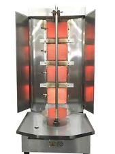 Spinning Grillers Shawarma Machine- 4 Burners Compact Size- Propane Gas