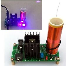 Mini Tesla Coil Plasma Speaker Kit Electronic Field Music 15W DIY Project Parts