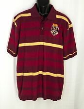 NWT QUEENSLAND MAROONS Polo Shirt Mens XL Australia RUGBY State of Origin QLD