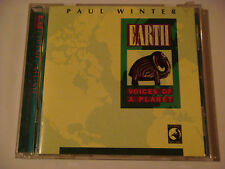 "PAUL WINTER ""Earth Voices of A Planet"" 1990 Living/Windham Hill w/ Animal Sounds"