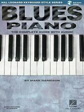 Blues Piano: Hal Leonard Keyboard Style Series (Keyboard Instruction) by Harris